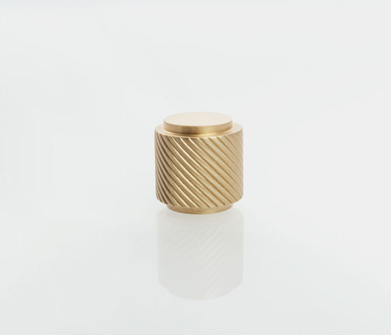 Furniture Handle WCM4   The Knob Brass matt by Craftvoll   Cabinet knobs
