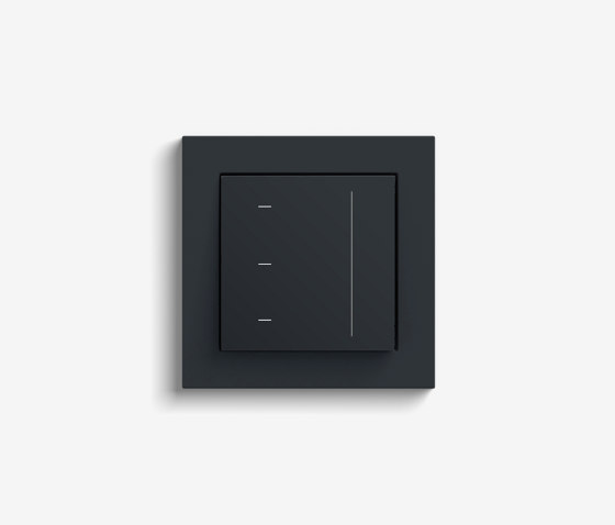 Blind Control   System 3000 Touchdisplay   Anthracite (including E2) by Gira   Lighting controls