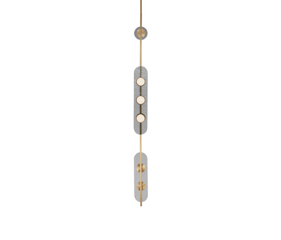 Modulo pendant vertical by CTO Lighting | Suspended lights