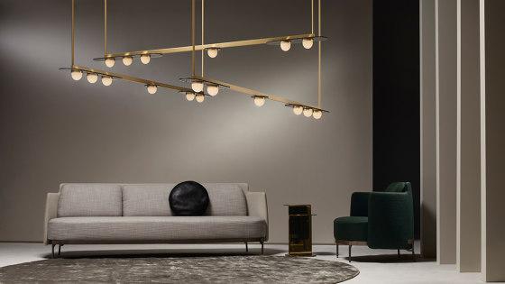 Modulo pendant horizontal von CTO Lighting | Pendelleuchten