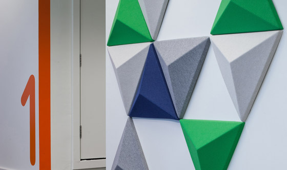 3D Tiles by Autex Industries   Synthetic panels