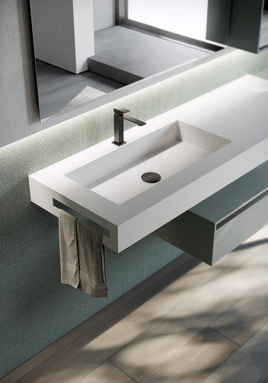 Sense 01 by Ideagroup | Bath shelving