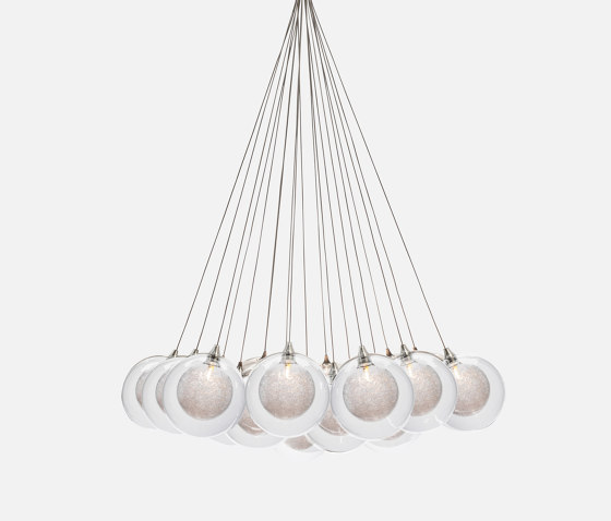 Kadur Drizzle 19 Bundle Clear Drizzle by Shakuff   Suspended lights