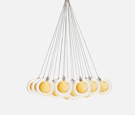 Kadur Drizzle 19 Bundle Gold Drizzle by Shakuff   Suspended lights