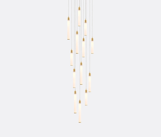 White Candle 13 by Shakuff | Suspended lights