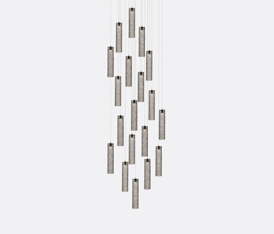 Mod Tube 19 Grey by Shakuff | Suspended lights
