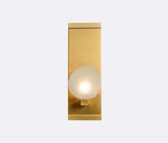 Nimbus Luxe Sconce Frost by Shakuff | Wall lights