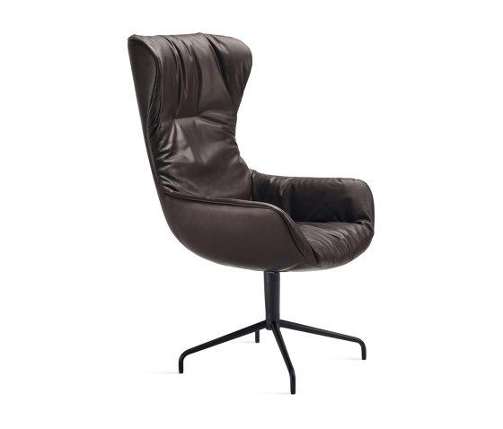 Leya   Executive Armchair mit Sternfuß von FREIFRAU MANUFAKTUR   Stühle