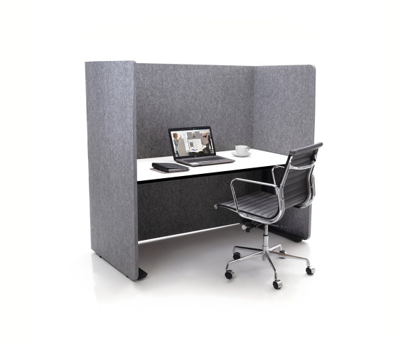 ATG silent.line - two-sided connector by silent.office.wall | Table accessories
