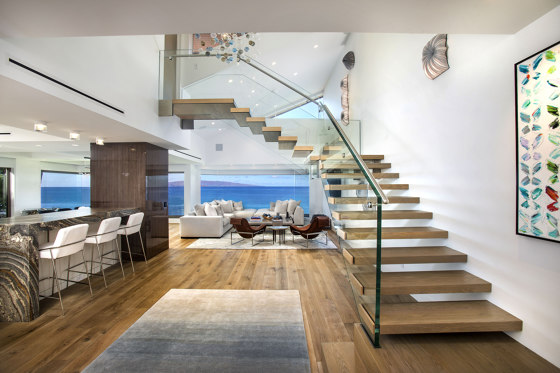 Mistral Floating stair Hawaii by Siller Treppen   Staircase systems