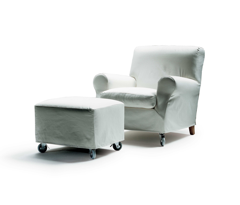 Flexform Nonnamaria Fauteuil.Nonnamaria Armchair Footstool Armchairs From Flexform