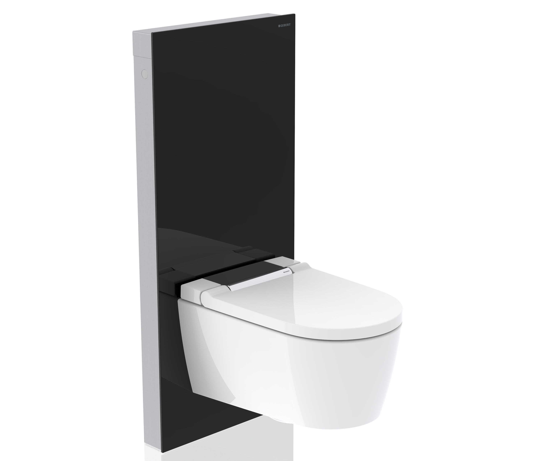 monolith sanitary module black glass architonic monolith sanitary module black