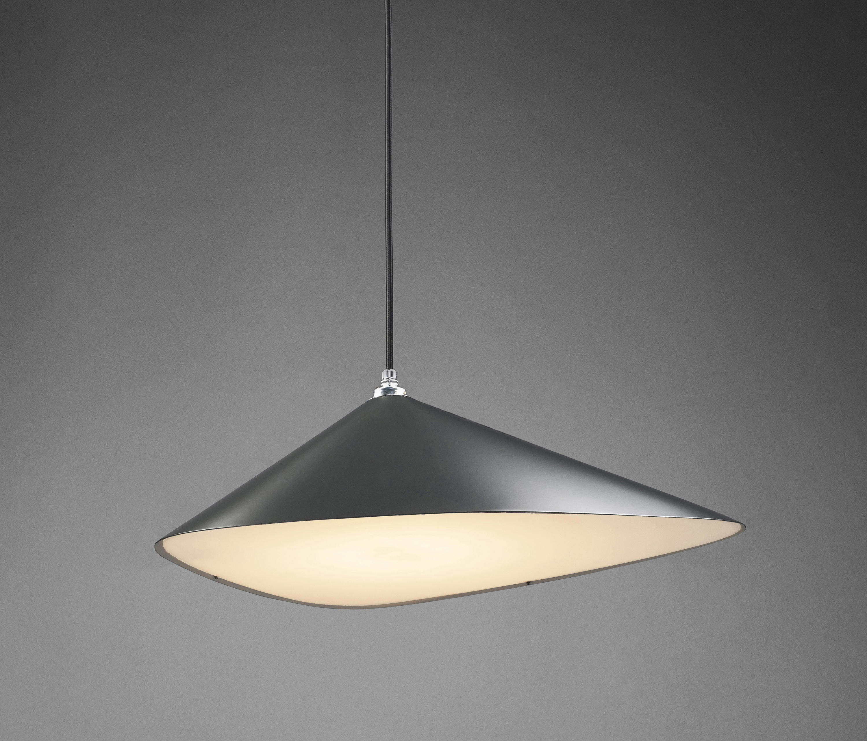 Emily I Semi Matte Suspended Lights From Daniel Becker