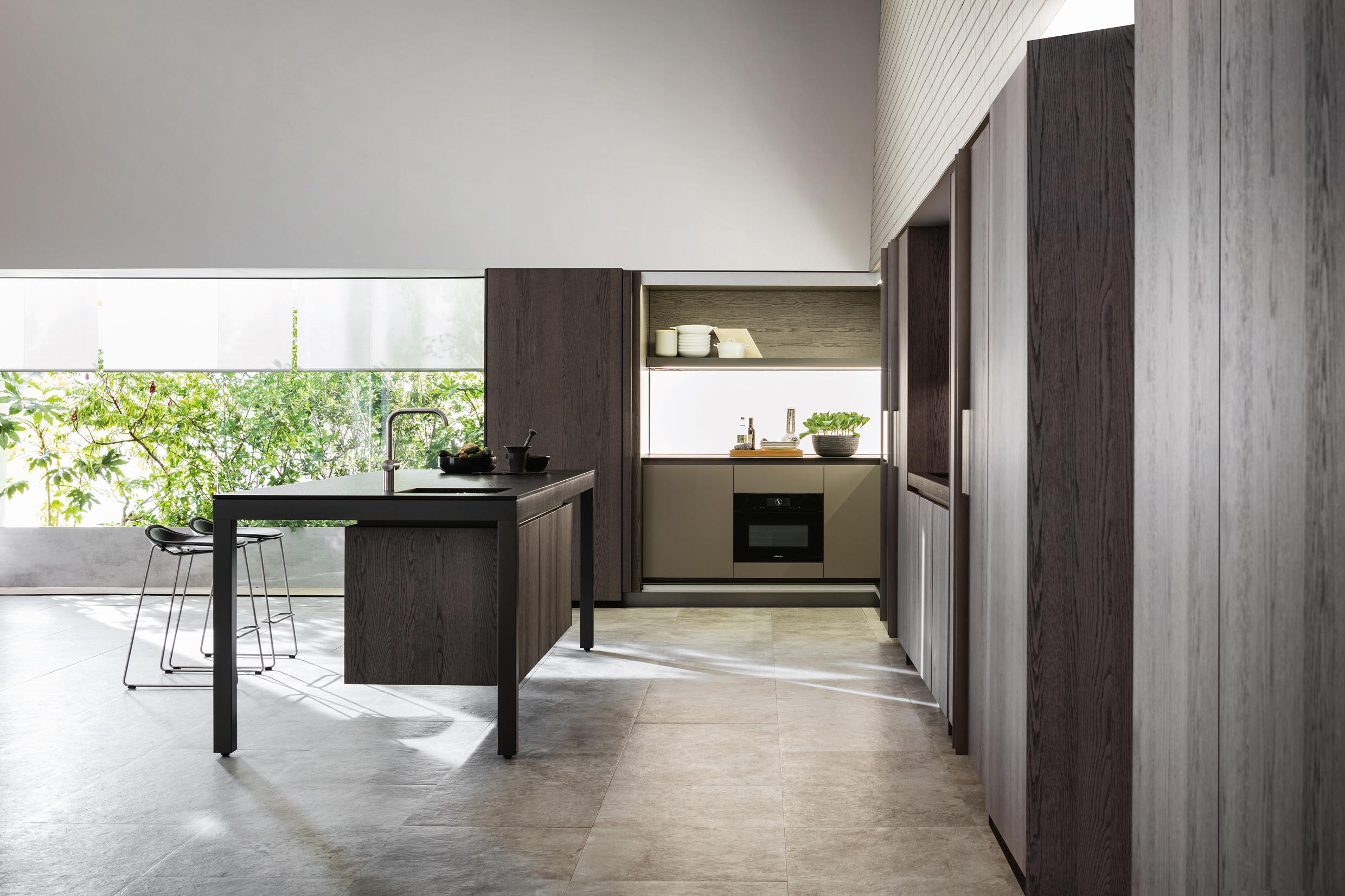 Banco fitted kitchens from dada architonic