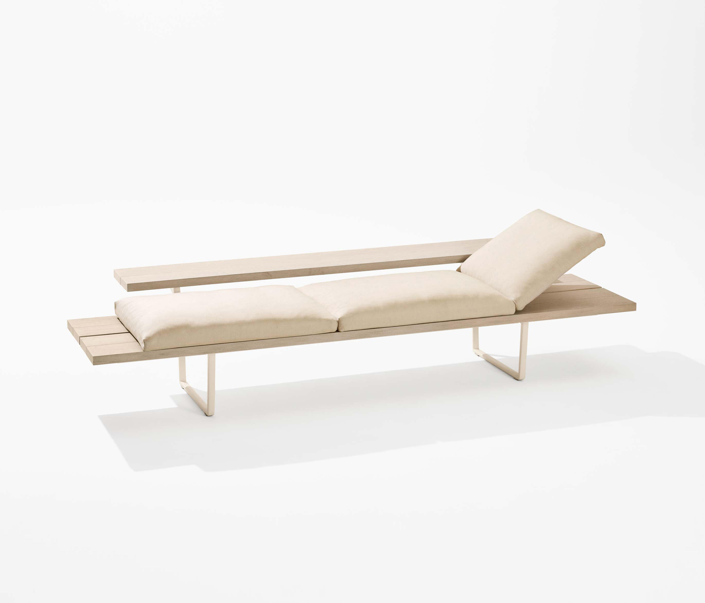 chaise longue en plan