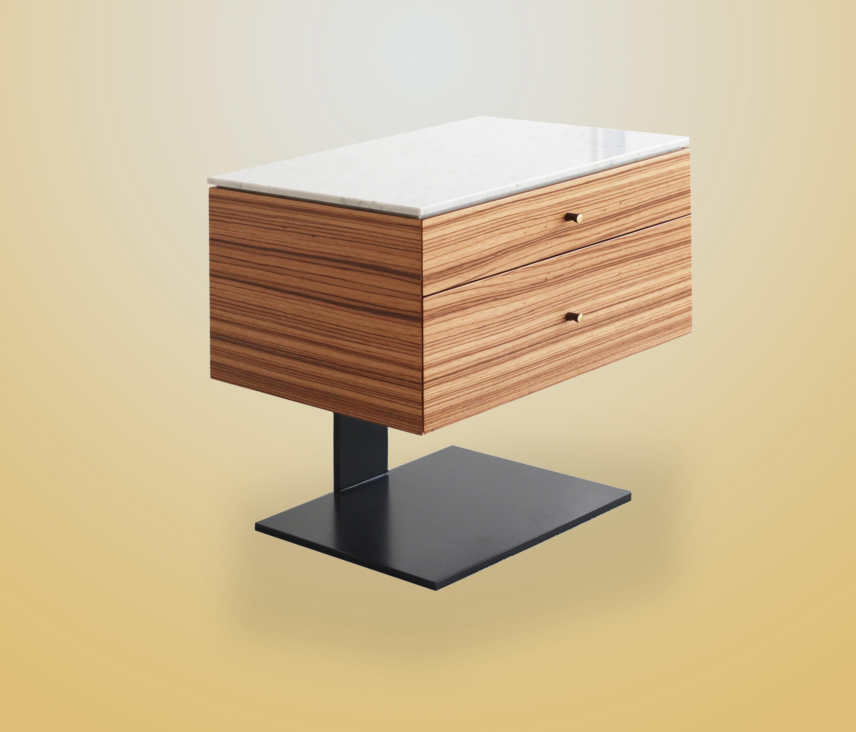 Fiennes Bedside Table By Ivar London Sideboards