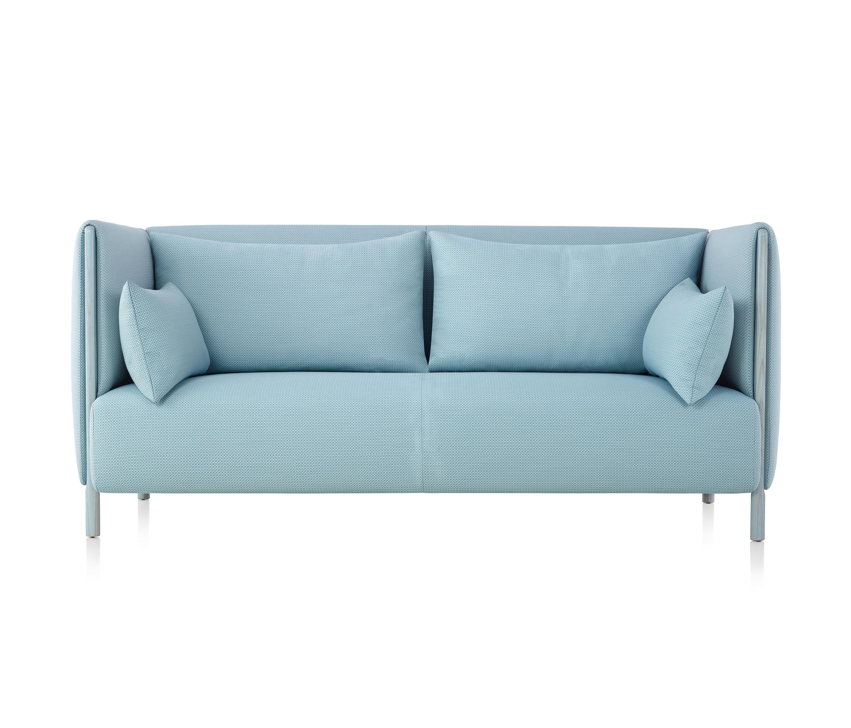 colourform 2 seat sofa sofas from herman miller architonic rh architonic com herman miller sofa used herman miller sofa price