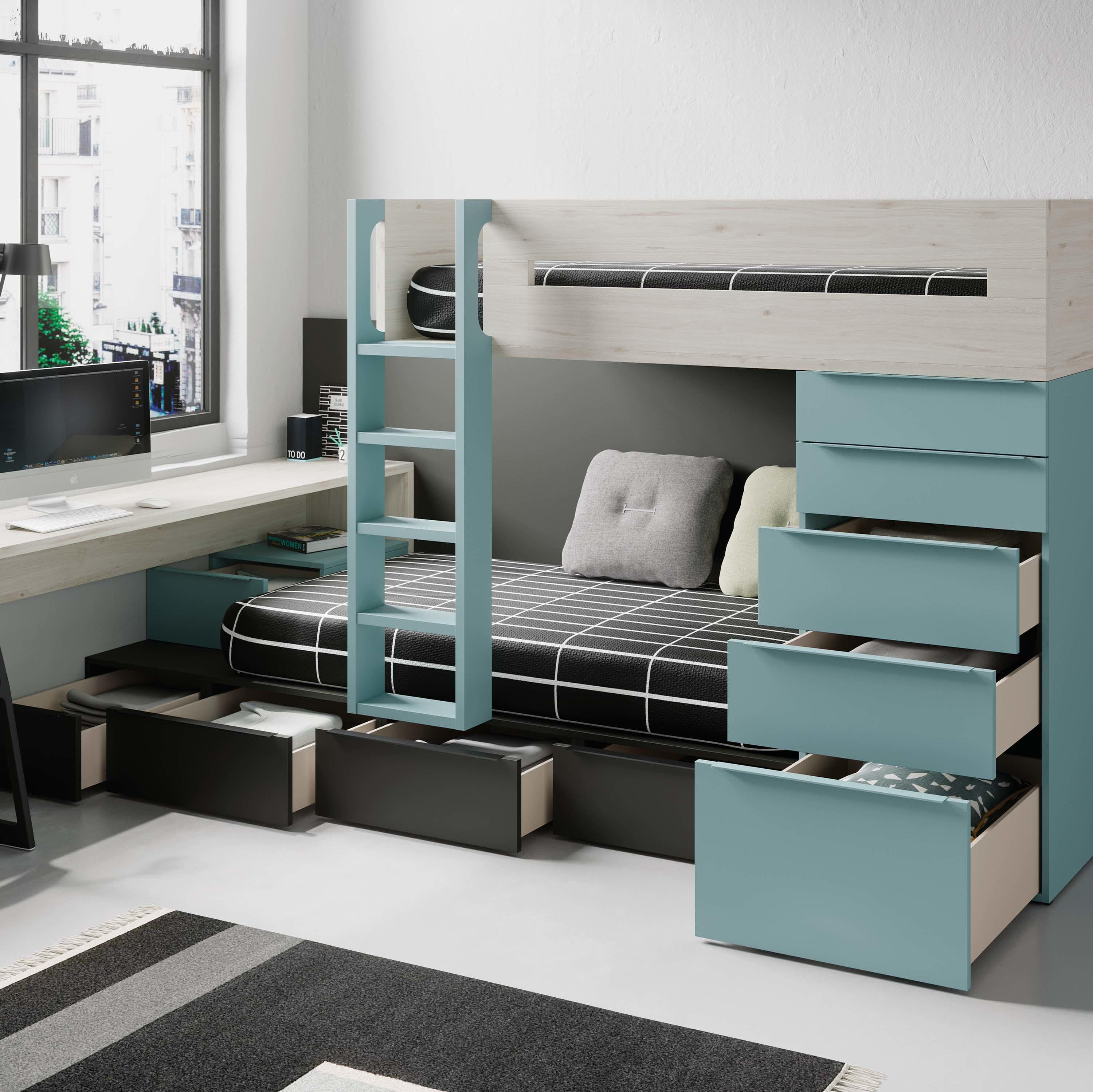 Train Bunk Bed 18 Kids Beds From Jjp Muebles Architonic