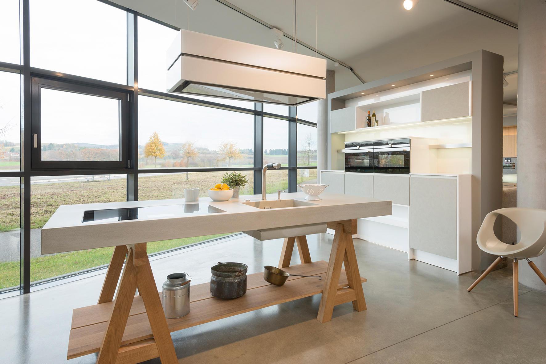 dade WERKKÜCHE concrete kitchen  Architonic