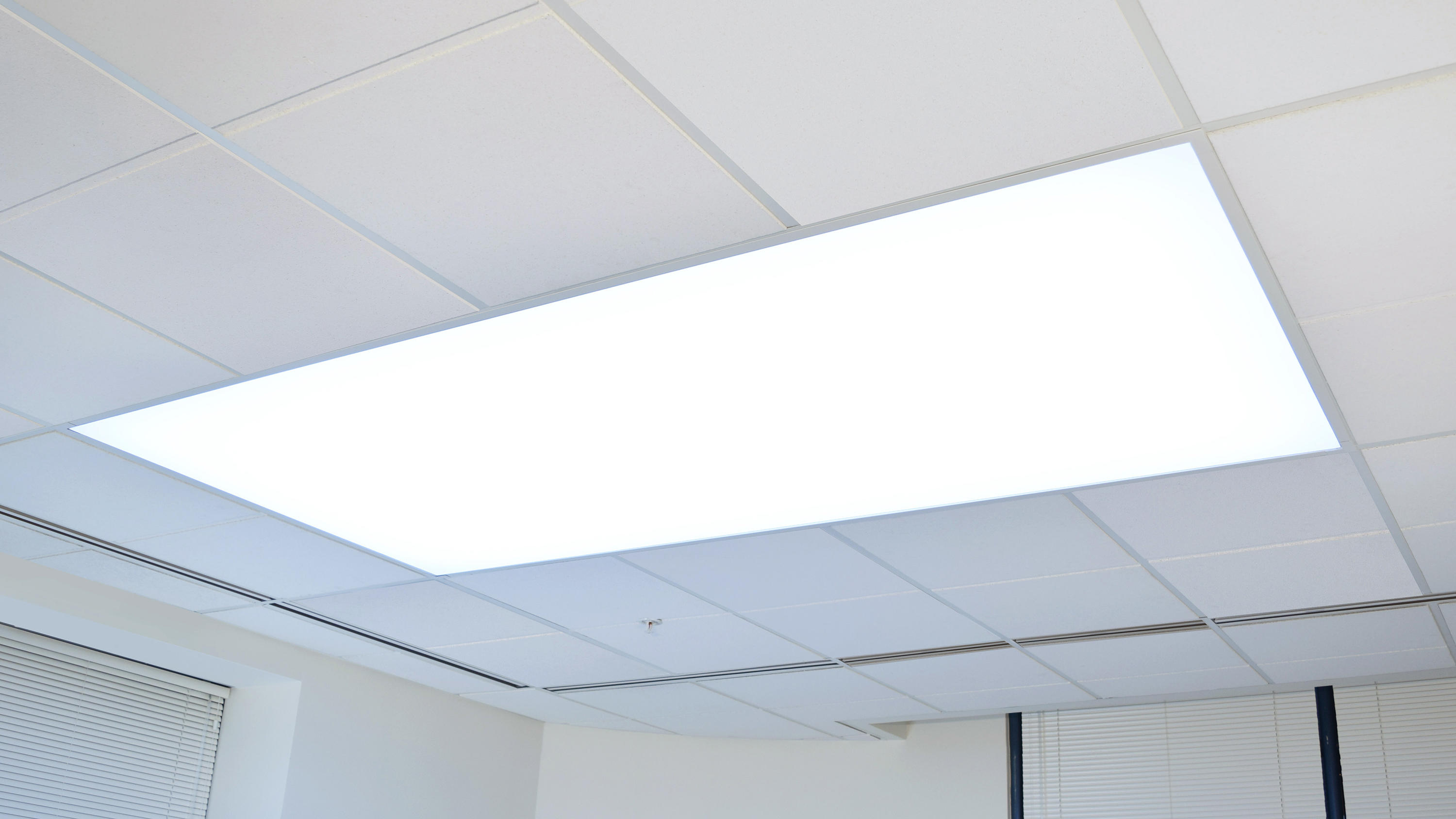 Fabricated Luminaires Grid T Bar Recessed Ceiling