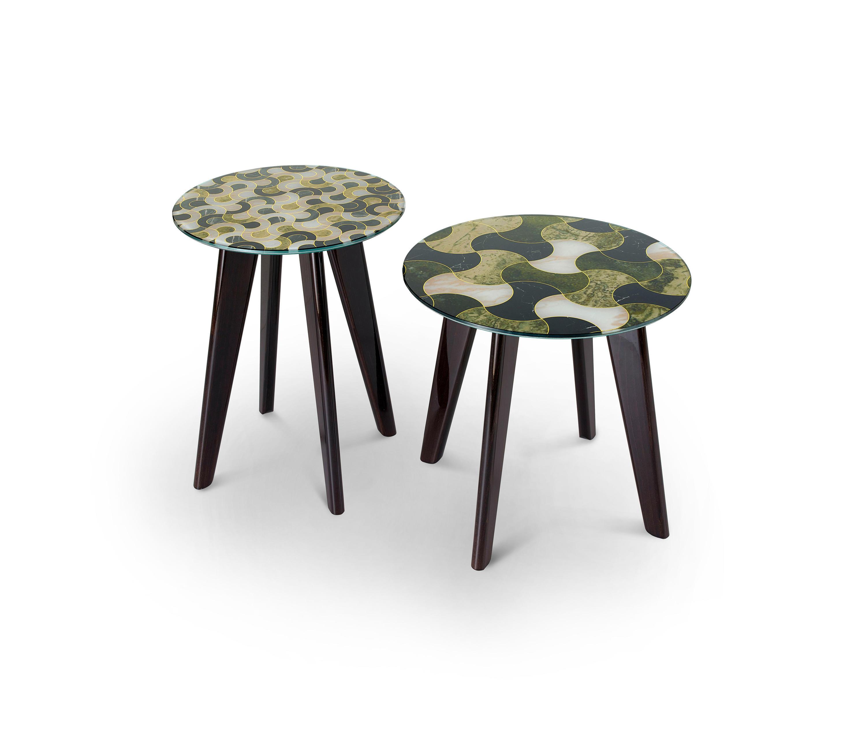 Stupendous Owen Round Table Beistelltische Von Sicis Architonic Andrewgaddart Wooden Chair Designs For Living Room Andrewgaddartcom