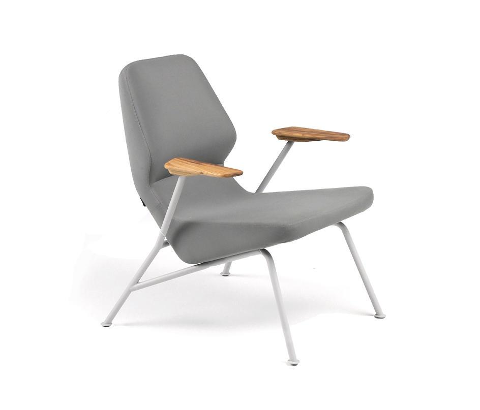 Oblique Easy Chair Metal Outdoor Sessel Von Prostoria Architonic