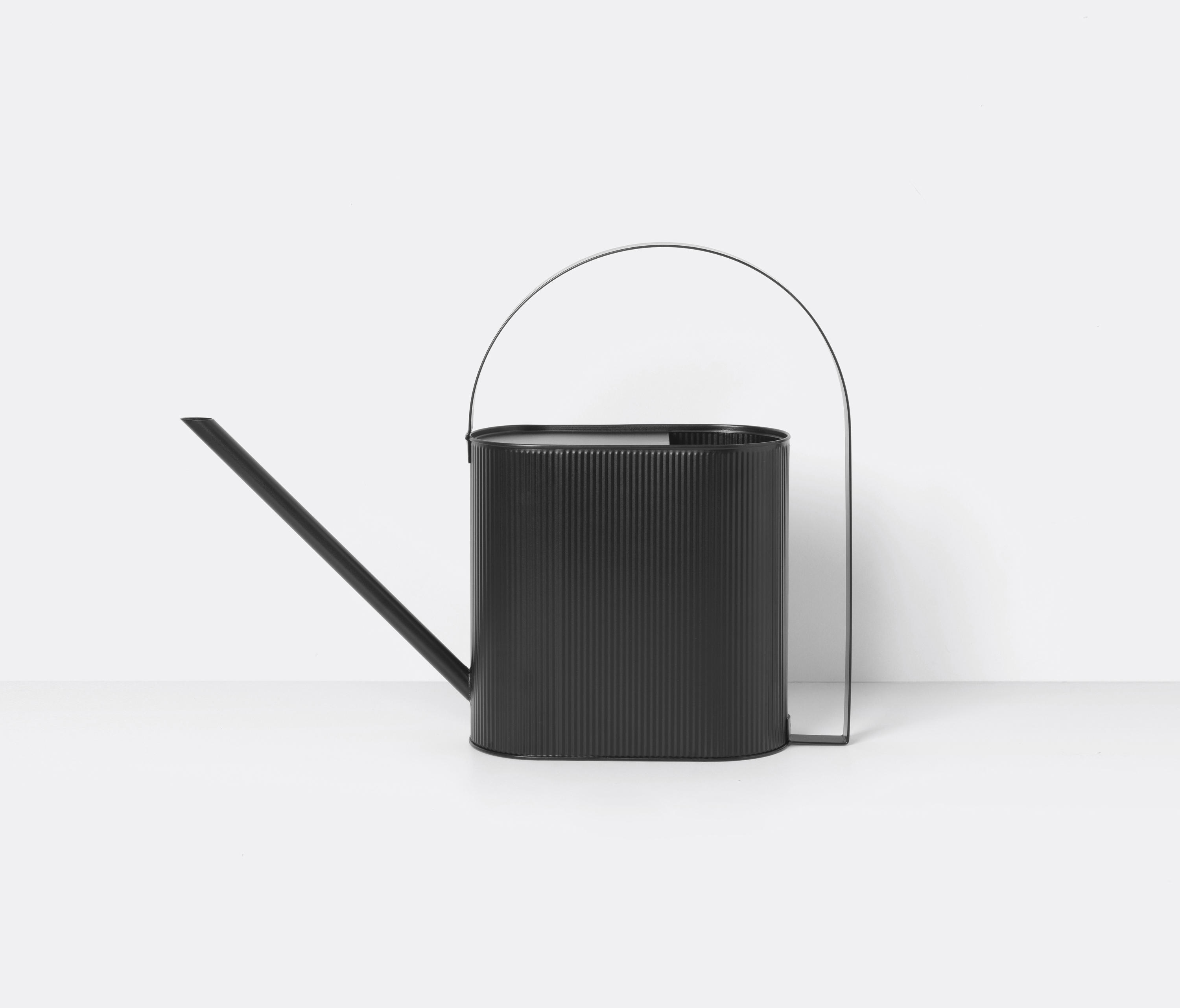 Bau Watering Can Large Black By Ferm Living Garden Accessories