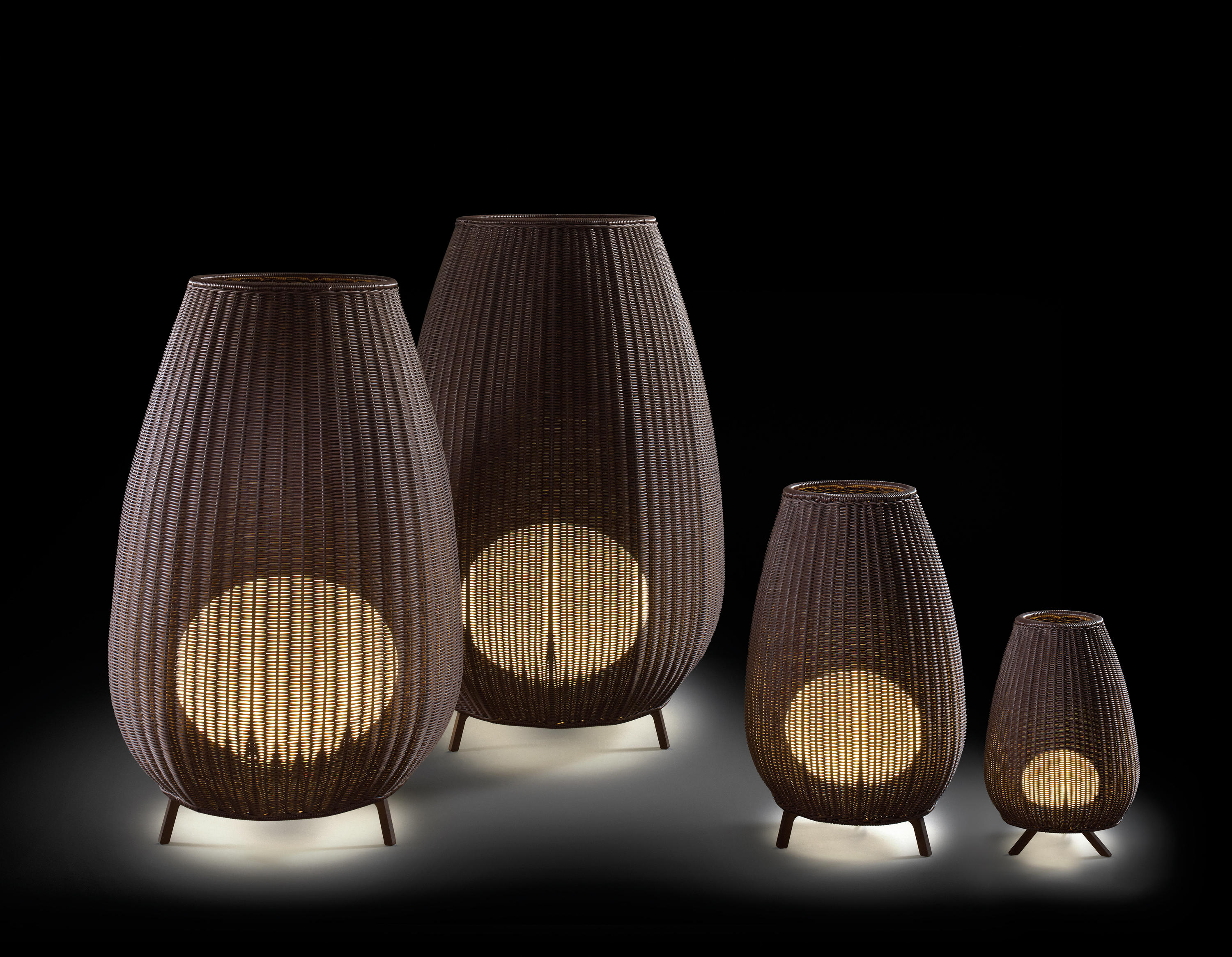 Amphora Floor Lights From Bover Architonic
