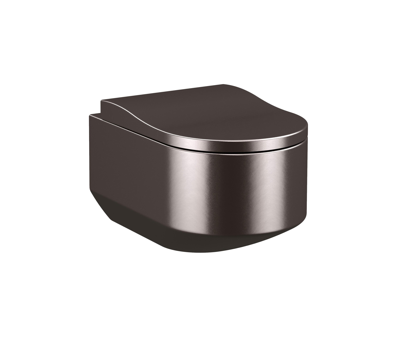 TOILETS | WALL-HUNG WC | DARK METALLIC - WC from Armani Roca