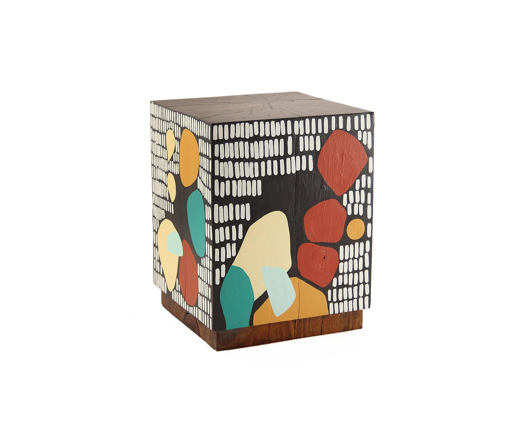 Banda Baako Hand Painted Cube Architonic