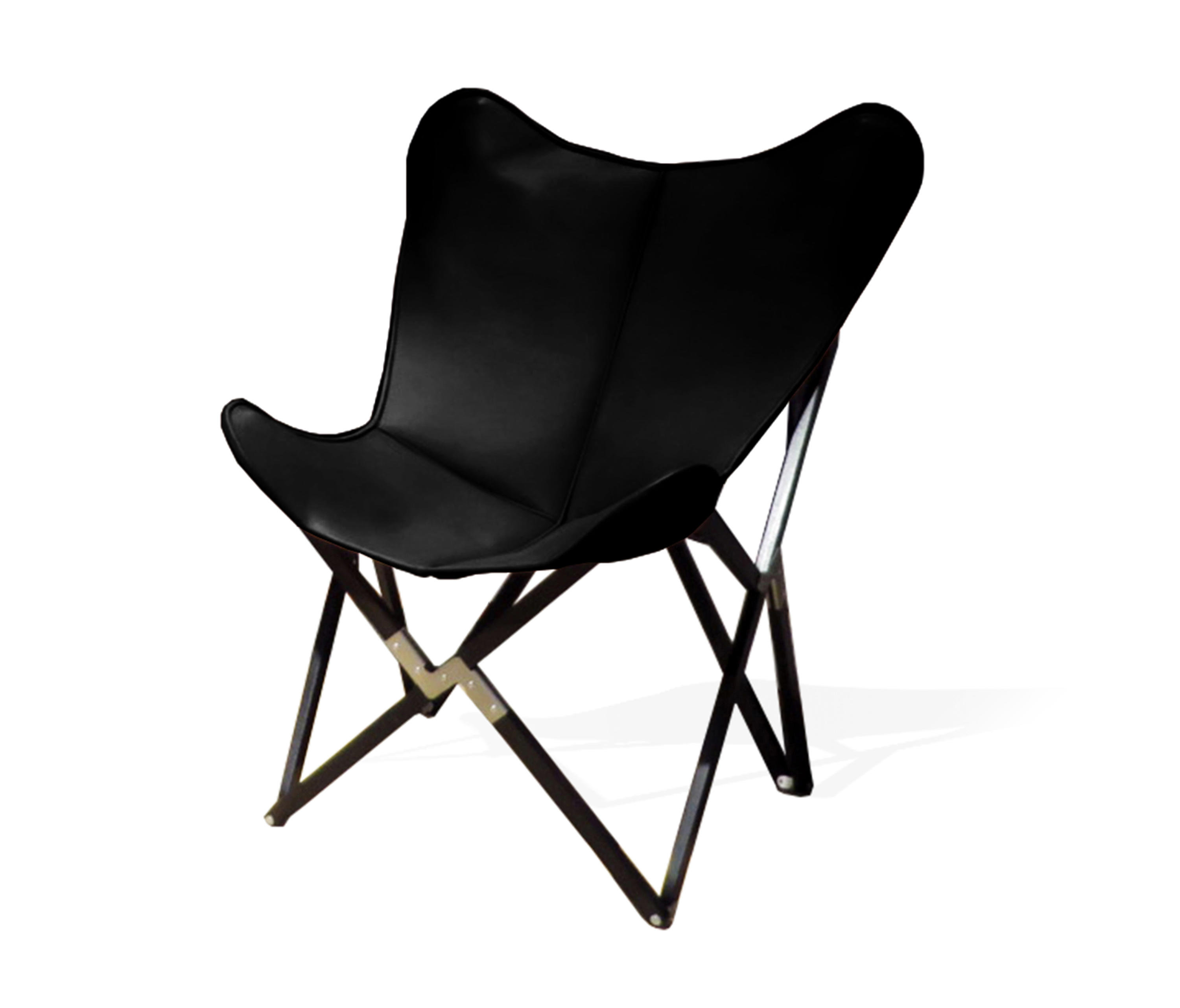 Super Fenby Tripolina Chair Grand Comfort Leather Black Architonic Evergreenethics Interior Chair Design Evergreenethicsorg