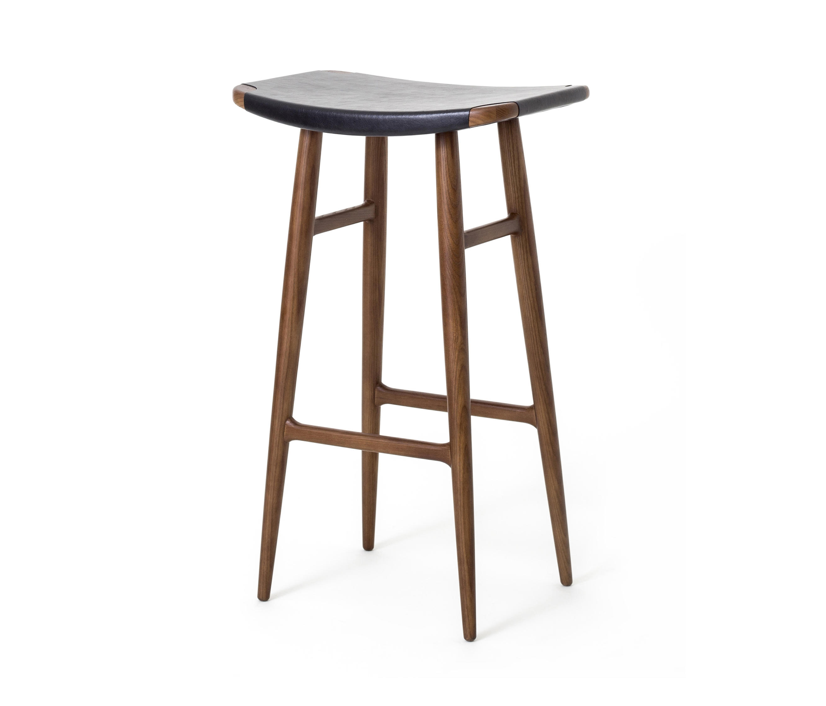 Freja Bar Stool Sh750 Leather Seat Stools From Stellar