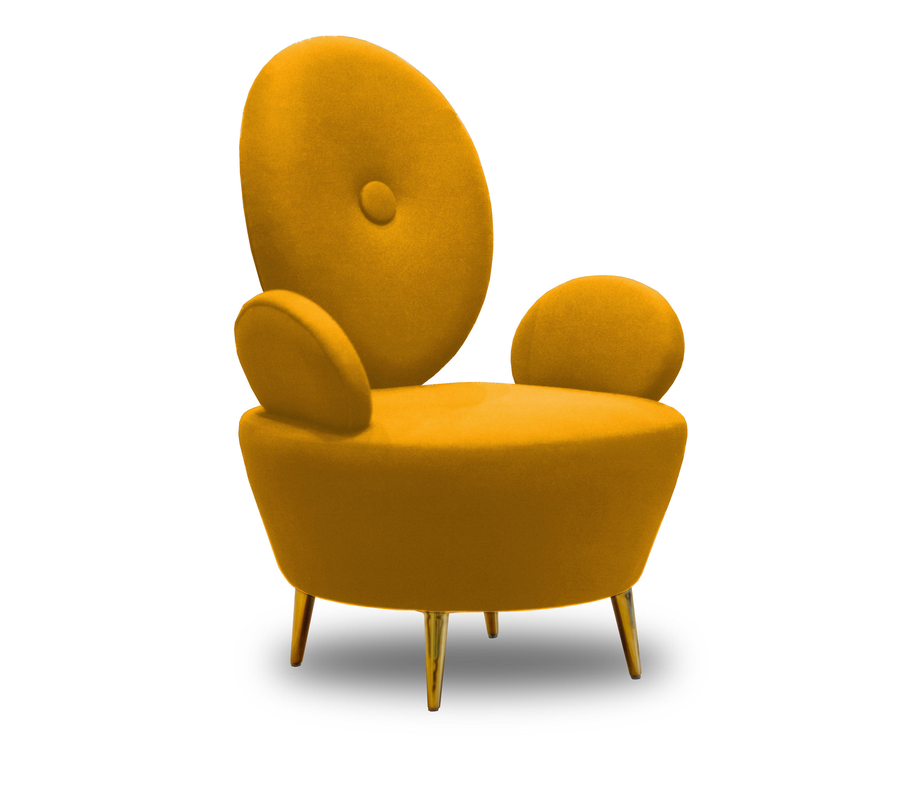 AYI | ARMCHAIR | Yellow | Architonic