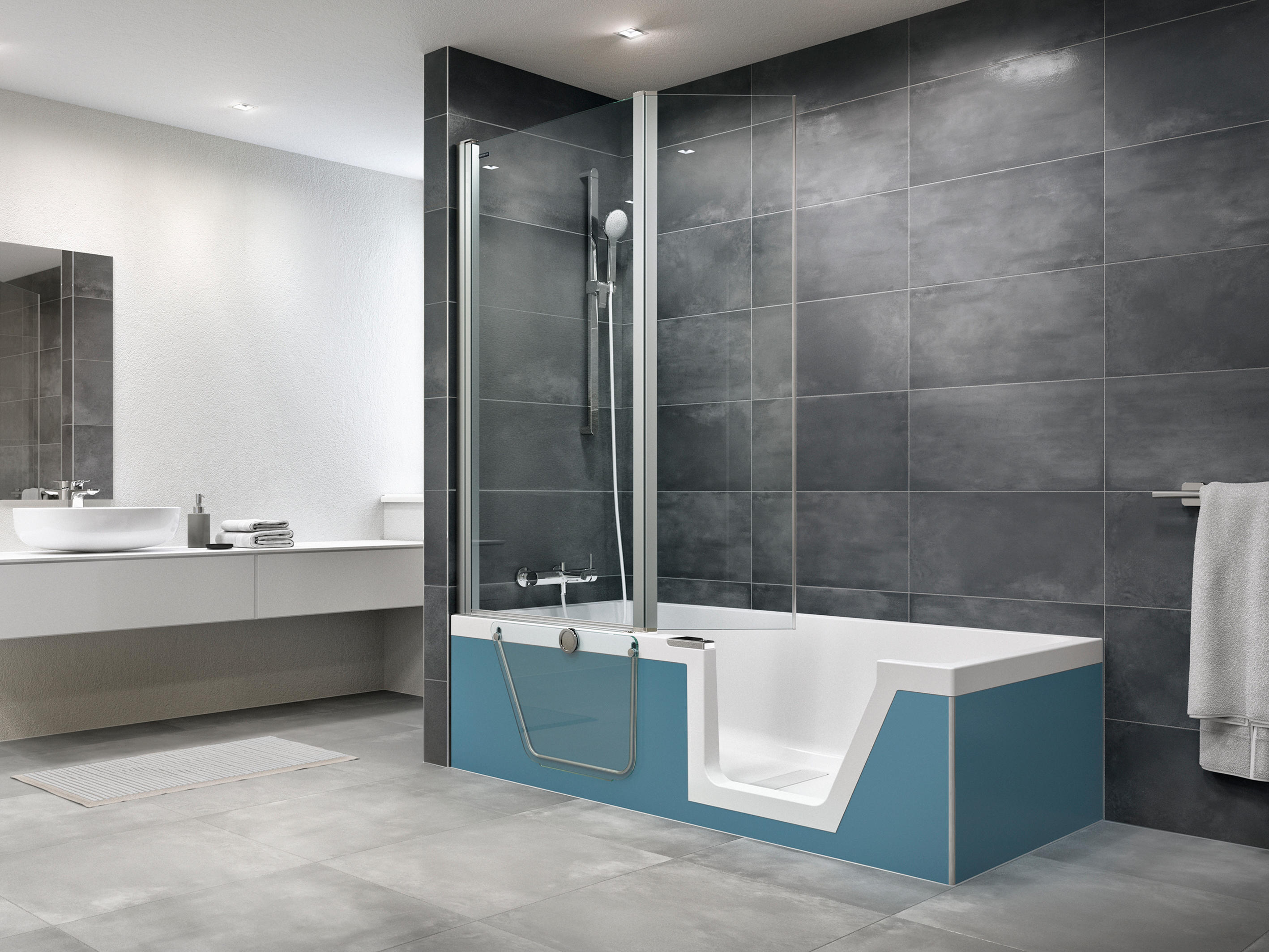 Step In Pure Bathtubs From Duscholux Ag Architonic