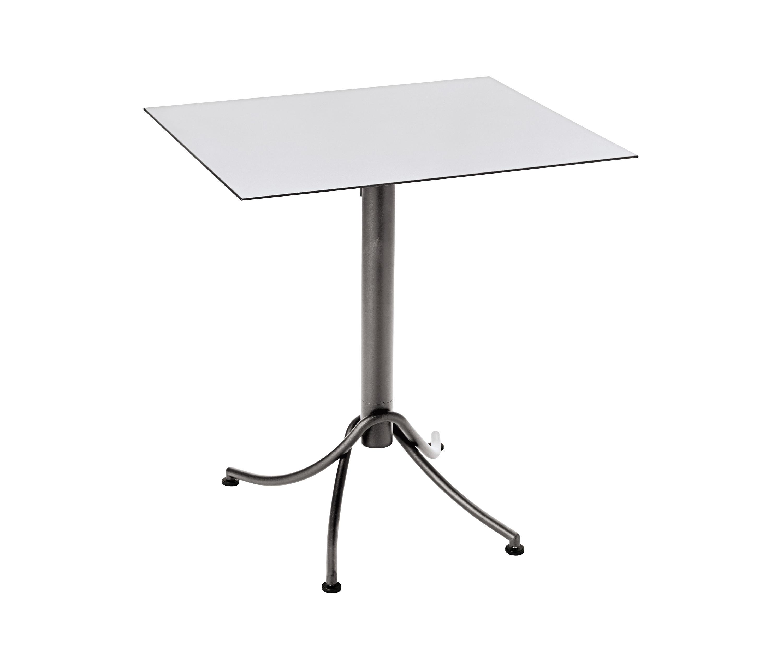Tisch 70 Cm.Ariane Zweifarbiger Tisch 60 X 70 Cm Bistrotische Von