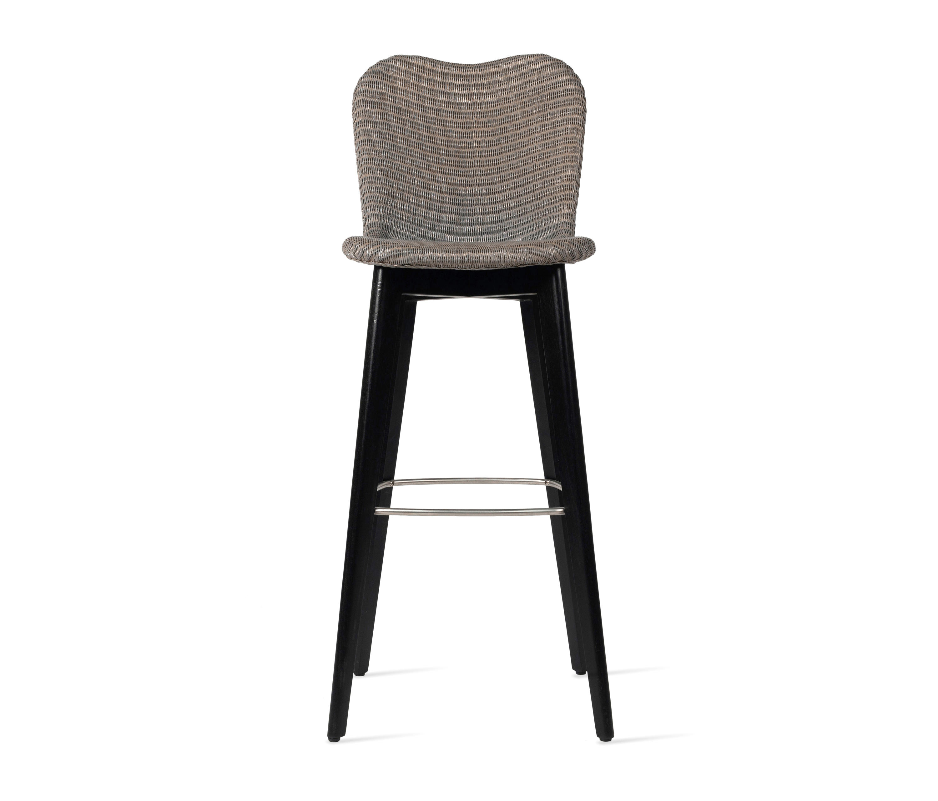 Strange Lily Bar Stool Black Wood Base Architonic Pabps2019 Chair Design Images Pabps2019Com