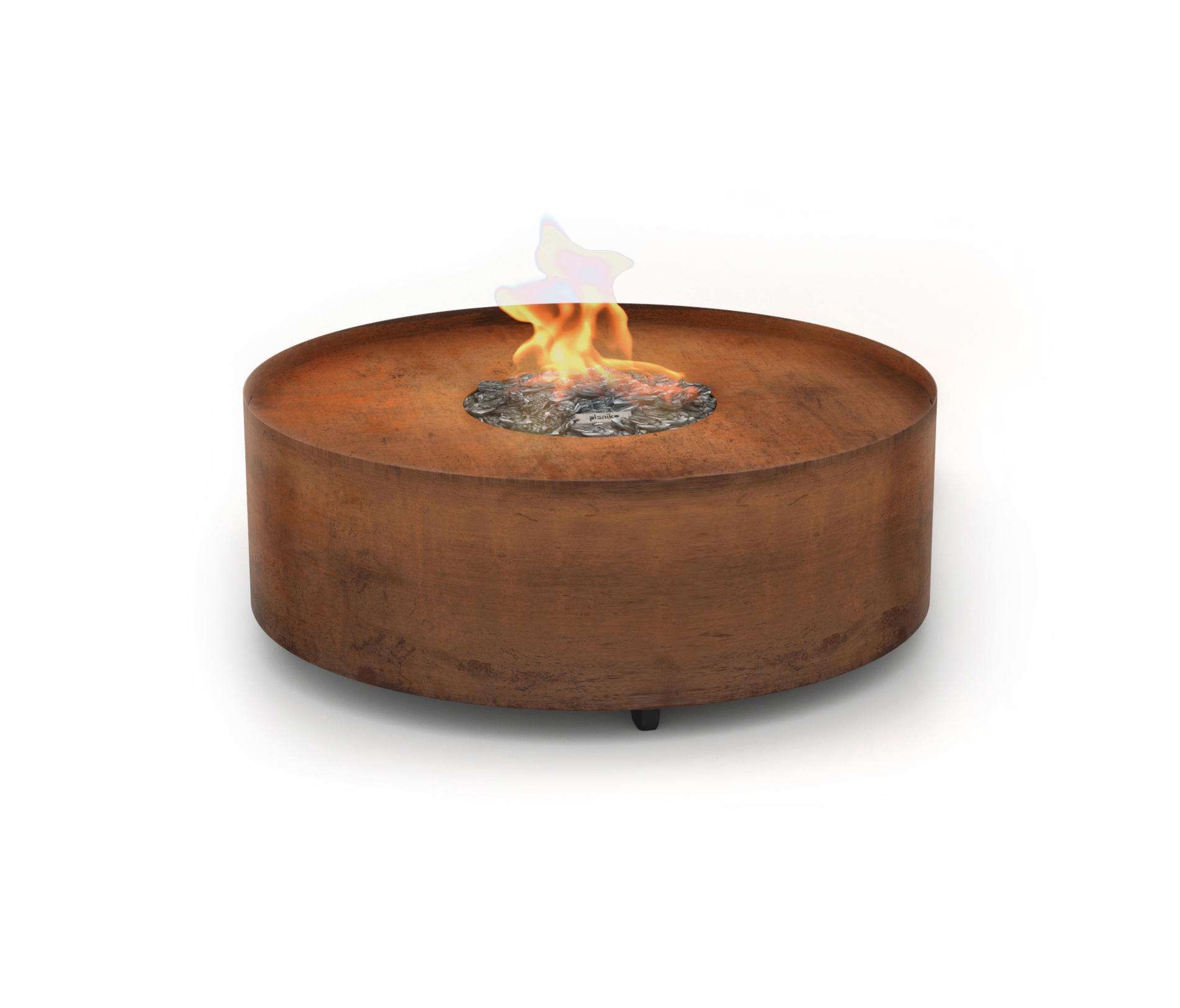 Galio Fire Pit Corten Designer Furniture Architonic