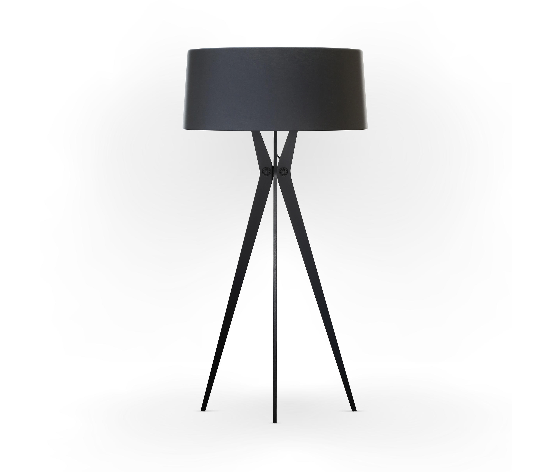 No 43 Floor Lamp Matt Collection Deep Black Fenix Ntm Architonic