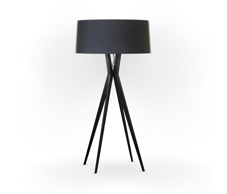Picture of: No 43 Floor Lamp Matt Collection Deep Black Fenix Ntm Architonic