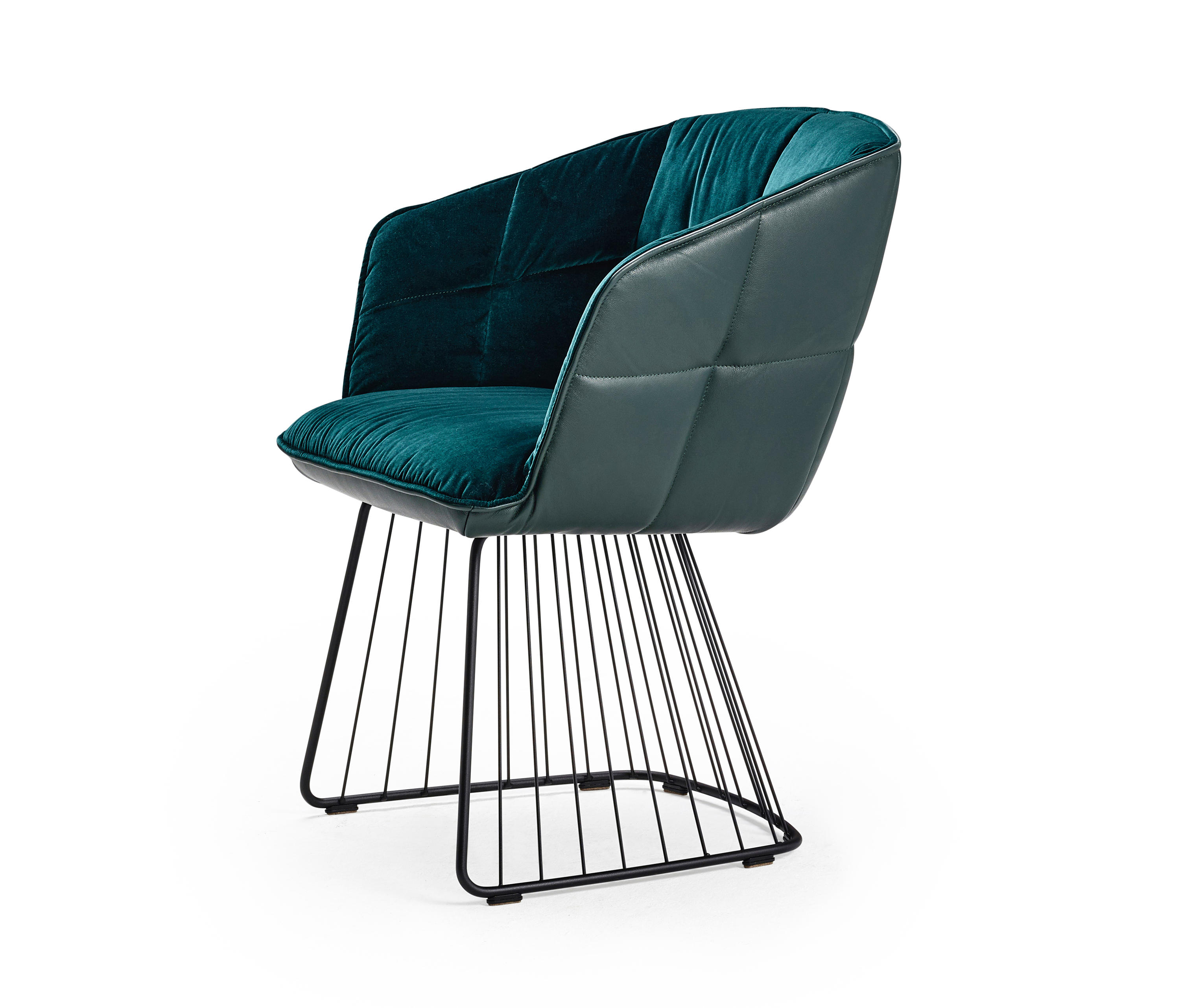 Marla Armchair High With Harp Frame Architonic