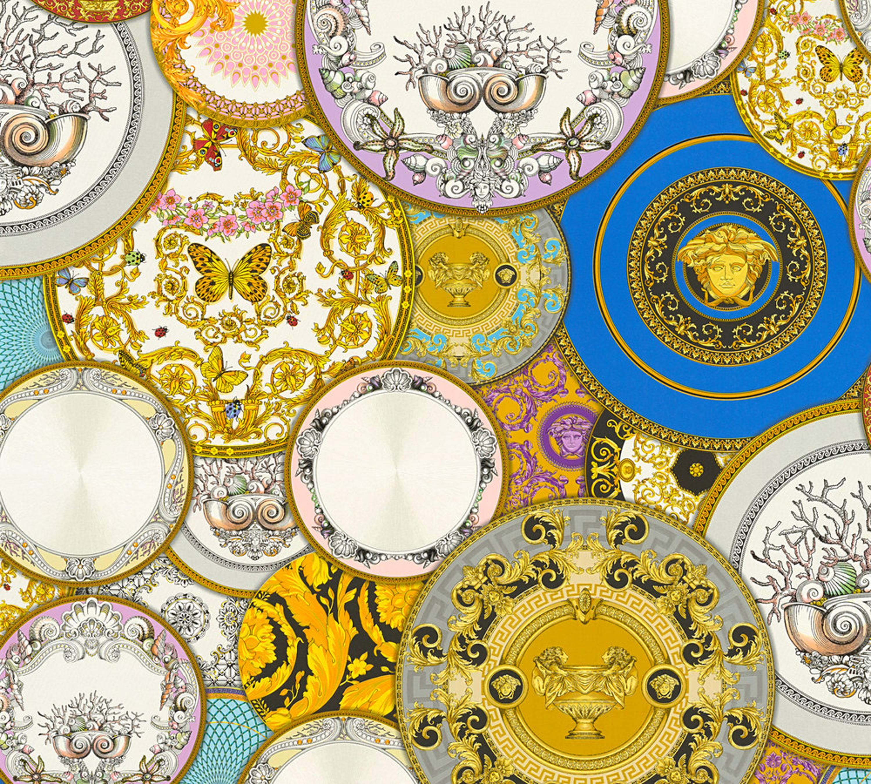 A.S Creation 349042/Line Versace 3/Motif papier peint Multicolore