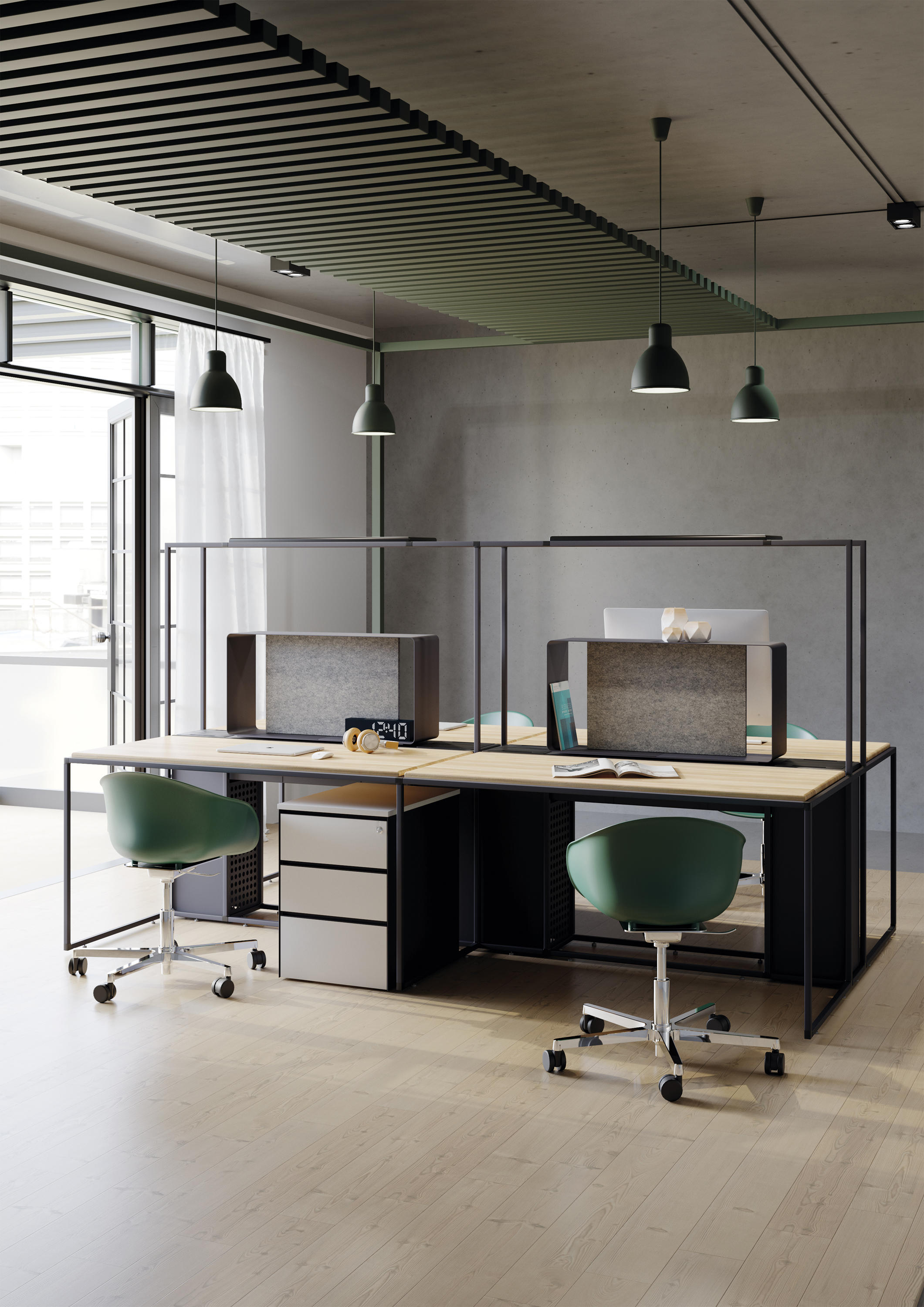 Picture of: Frame Desks From Ersa Architonic