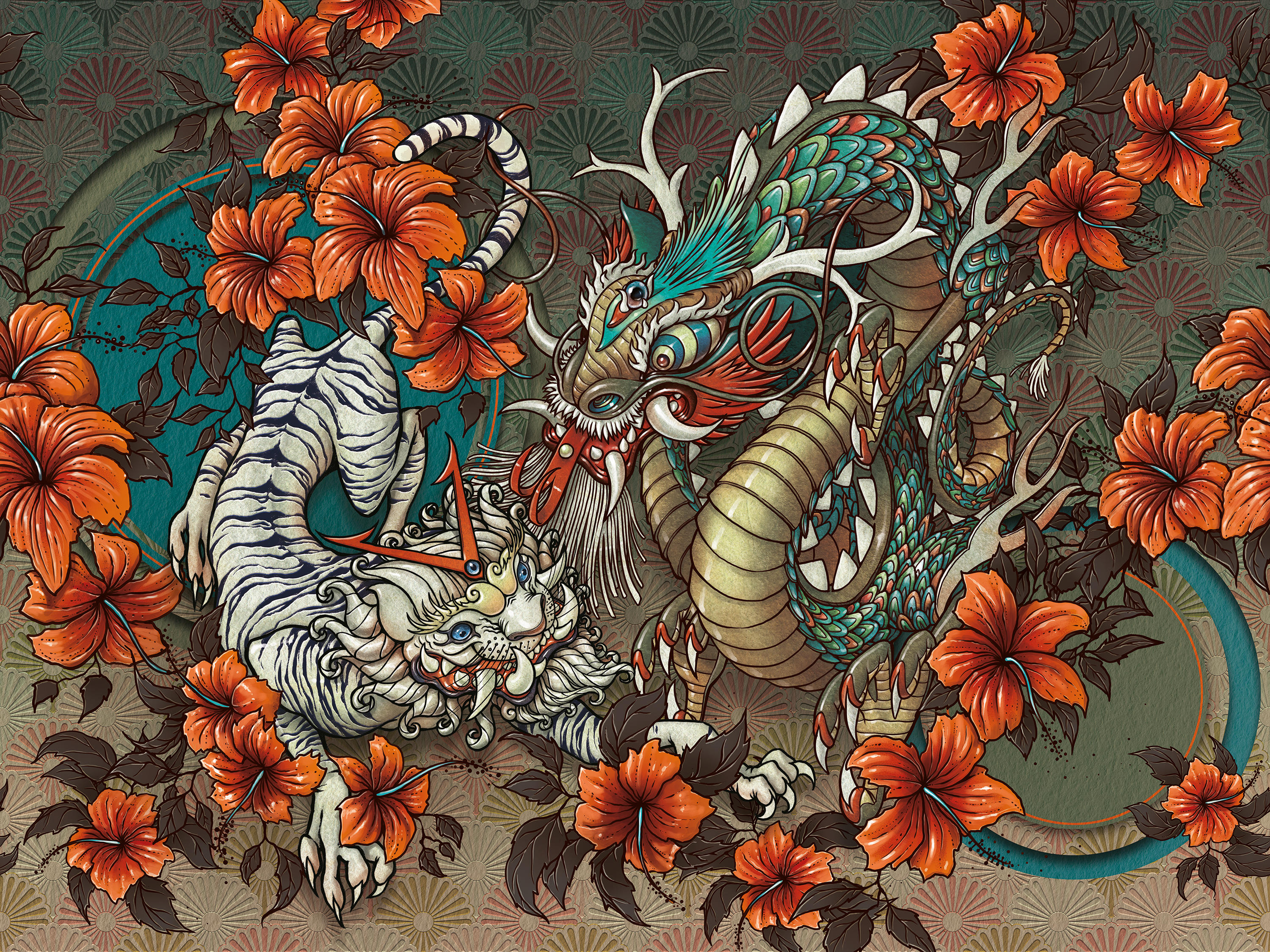 Garden Of Gods Wall Coverings Wallpapers From Inkiostro Bianco