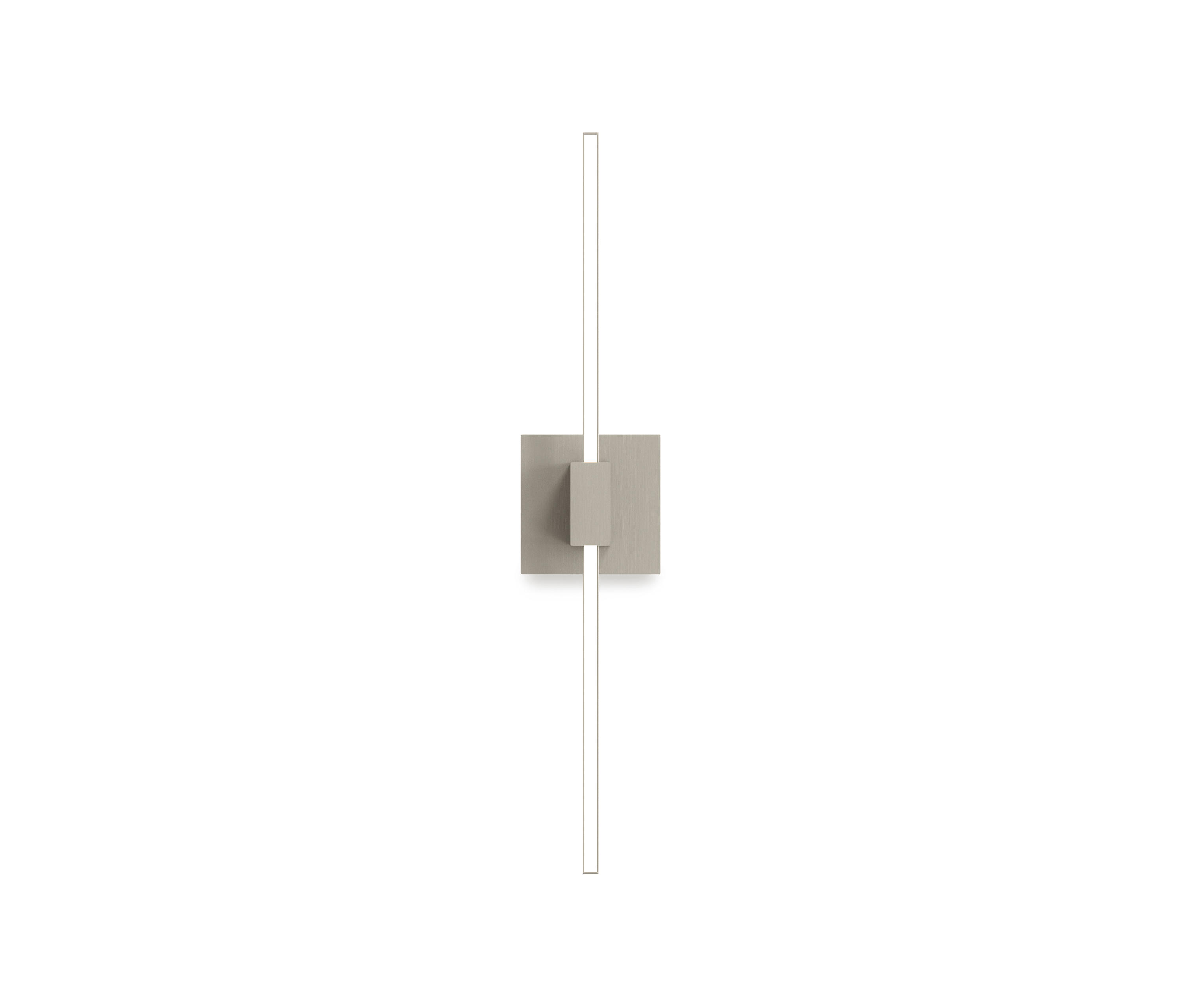 Z Bar Wall Sconce 24 Center Mount Brushed Nickel Architonic