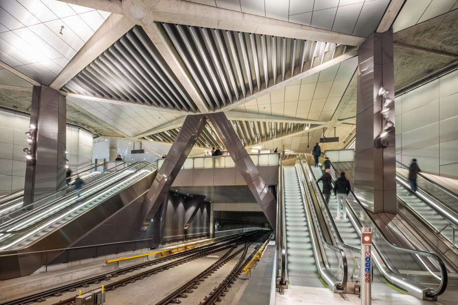 As above, so below: Benthem Crouwel discuss their new Amsterdam metro line | News