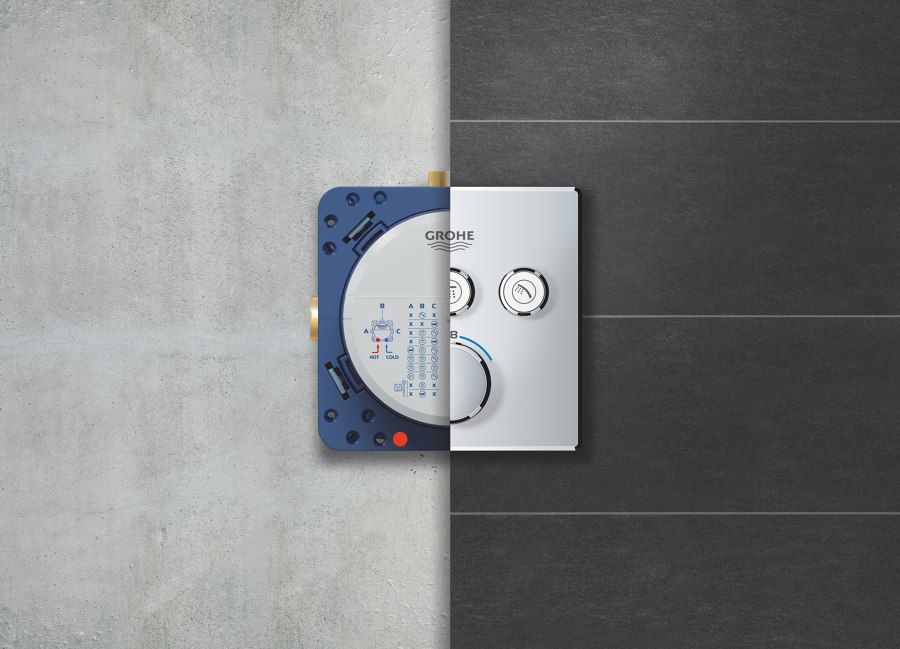 Behind the curtain: GROHE SMARTCONTROL CONCEALED | News