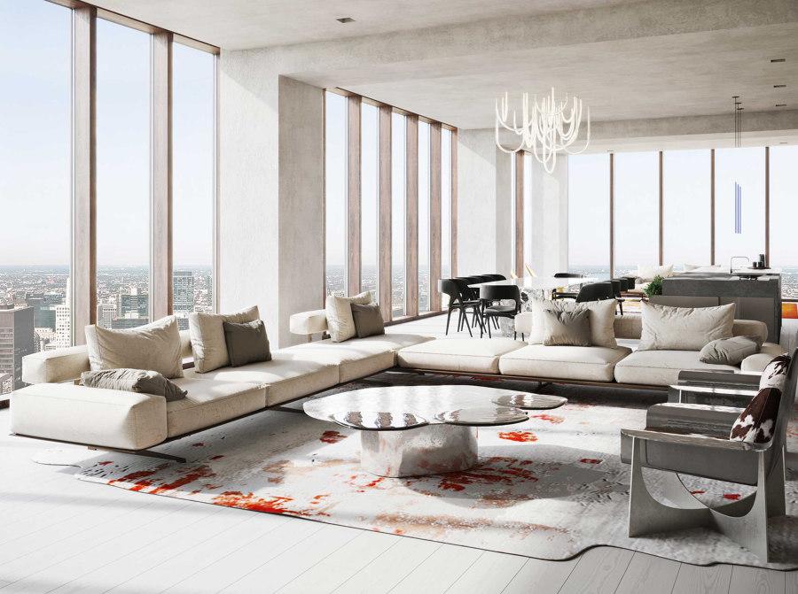 Flying premium: The Flexform Wing sofa | News