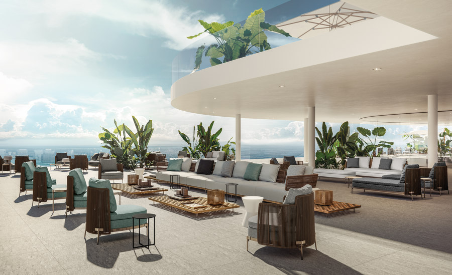 Designing Waves: Minotti's 2019 Hospitality Vision   News