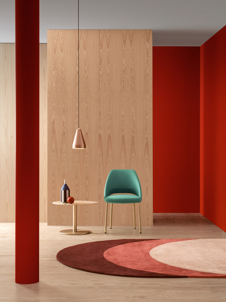 Seeing red: Pedrali launches new campaign | Nouveautés