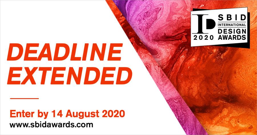 SBID International Design Awards 2020 Deadline Extended until 14 August   Design